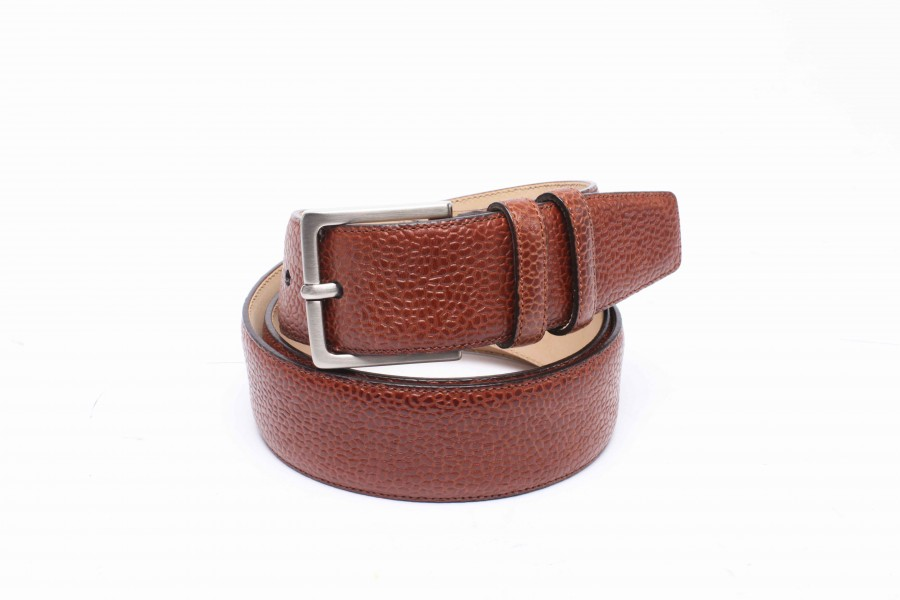 CEINTURE GRAINE MARRON