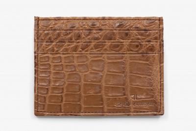 Croco Card holder
