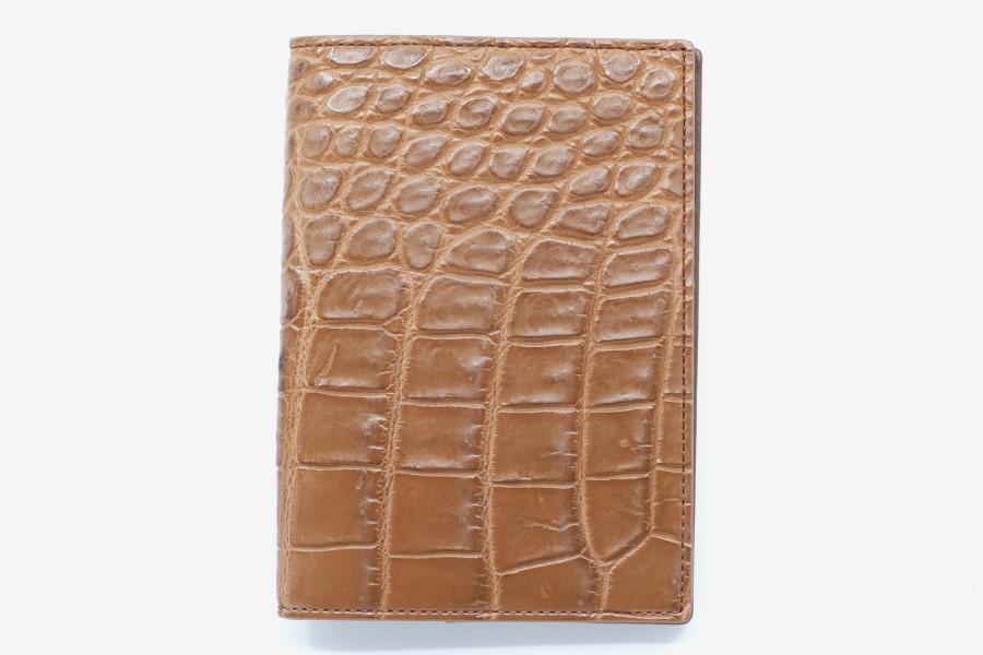 Porte-passeport croco