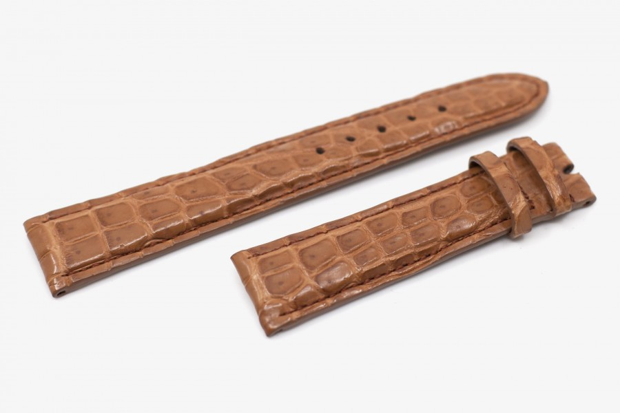 Bracelet montre croco