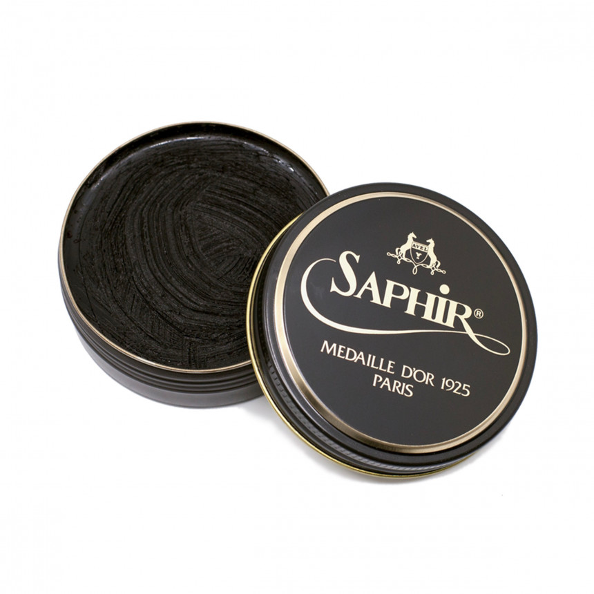 Dark Brown Wax Saphir
