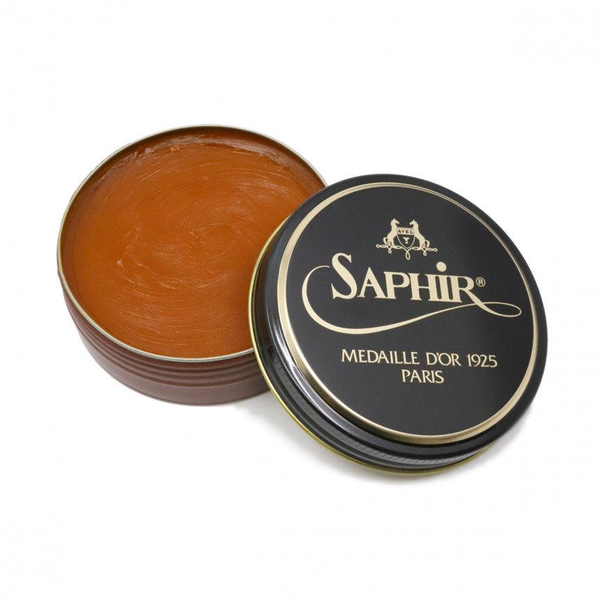 Medium Brown Wax Saphir
