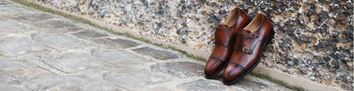 Chaussures à boucles pour homme | Septième Largeur