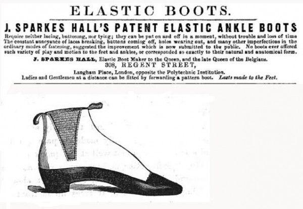 brevet bottines élastiques